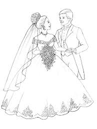 Our free printable files are formatted to print on letter sized paper. Marry And Weddings Coloring Pages Coloring Home