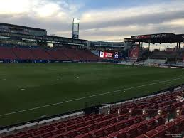 Toyota Stadium Football Seating Chart Toyota Stadium Section 124 Fc Dallas Rateyourseats Com