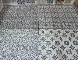 encaustic cement tile floor