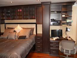 bed surround contemporary bedroom new york