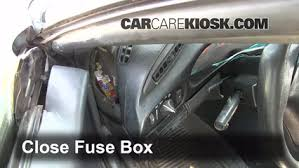 interior fuse box location chevrolet camaro  interior fuse box location 1993 2002 chevrolet camaro 1994 chevrolet camaro 3 4l v6 coupe