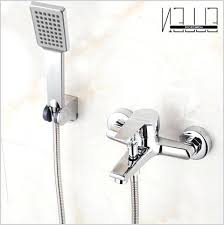 wall mounted bath faucets wall mount bathtub faucet with handheld shower a inspire wall mounted bathtub