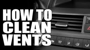 How To Clean <b>Air Conditioning Vents</b> - Masterson's <b>Car</b> Care - <b>Auto</b> ...
