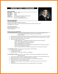 6 Example Resume For Job Application Martini Pink