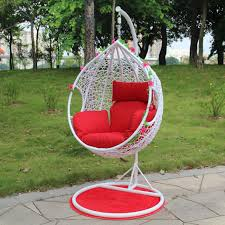 single double rattan basket hanging chairs swing chair full size