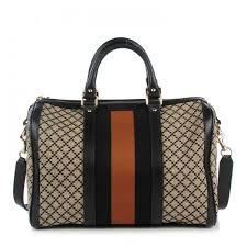 gucci bags for womens. gucci diamante vintage web medium boston black ❤ liked on polyvore featuring bags, handbags, gucci bags for womens