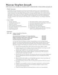 Examples Of Professional Resumes Fascinating Examples Of Professional Resume Andaleco