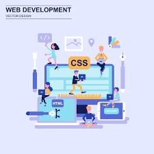 Web Design Flat Design Web Development Flat Design Concept Download Free Vectors