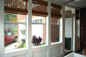 rare image of outdoor bamboo shades for screened porch outside images with curtains roll up outdoor