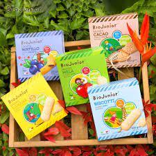 Bánh ăn dặm hữu cơ cho bé từ 7 tháng tuổi - Bio Junior giá cạnh tranh
