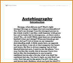 Autobiography Template For Students - April.onthemarch.co