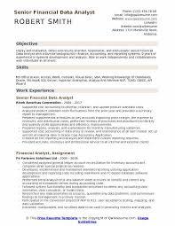 Financial Data Analyst Resume Samples Qwikresume
