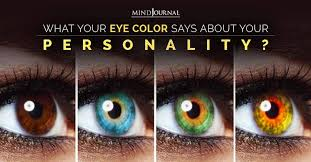 eye color says about your personality