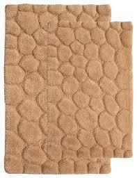 saffron fabs pebbles bath rug view in your room houzz pebble bath mat set