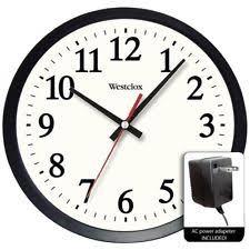 office wall clock.  Office Item 3 Westclox 14 To Office Wall Clock