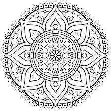 Free Mandala Coloring Pages Download Mandala Color Page Coloring