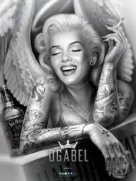 com angelyn poster 9 95 http www shopogabel angelyn poster  on marilyn monroe tattoo wall art with angelyn 18x24 poster pinterest chicano tattoo and chicano art