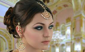 turquoise and pink indian bridal makeup tutorial asian stani arabic traditional look you
