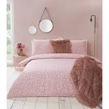 349263 349264 blush leopard duvet set