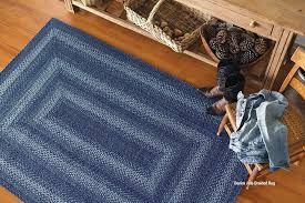 all you need to know about braided rugs