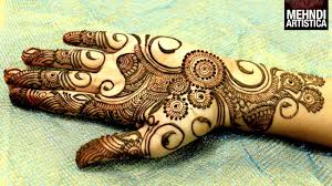 A Beautiful Mehndi Designs Easy Simple Beautiful Circular Mehndi Designs For Hands Latest Henna For Palm Mehndiartistica Design