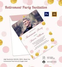 Free Retirement Flyer Templates Free Retirement Flyer Template 15 Invitation Templates Sample
