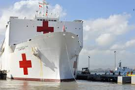 Image result for the medical ship in Puerto Rico