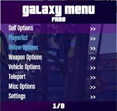 Online Menu Creator Outdated Galaxy Mod Menu