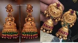 Buttalu Designs Gold Latest Gold Buttalu Design Gold Jumka Design By Advitha