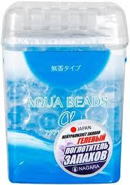 <b>Поглотитель запаха Nagara Aqua</b> Beads, гелевый, 360 г (2565 ...
