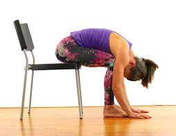 10 chair yoga stretches to undo the