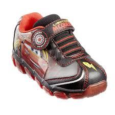 Lightning Mcqueen Light Up Sneakers Cars Lightning Mcqueen Boys Toddler Light Up Athletic