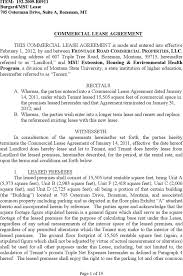 Simple Commercial Lease Agreement Download Simple Commercial Lease Agreement For Free TidyForm 21