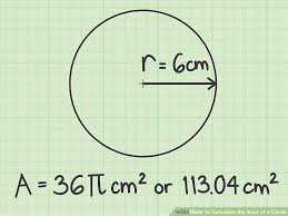 image titled calculate the area of a circle step 4
