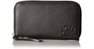 thomas stingray leather wallet in black lyst