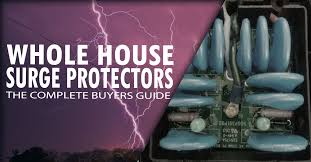 a whole house surge protector can keep your home appliances safe