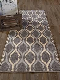 diagona designs contemporary moroccan trellis design non slip kitchen bathroom hallway area rug