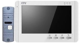 <b>Комплект видеодомофона CTV-DP1704MD</b>, <b>белый</b>