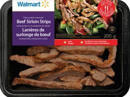 beef sirloin strips