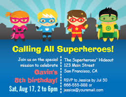 superheroes birthday party invitations superhero party invitations zazzle