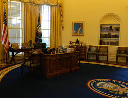 white house oval office desk. White House Replica At The Clinton Presidential Center In Little Rock, Arkansas Oval Office Desk