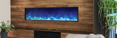 linear electric fireplace. Amantii Electric Fireplaces Online Flames Linear Fireplace