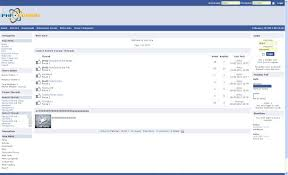 Free Facebook Blue Php Fusion Theme Template