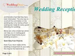 Wedding Reception Seating Arrangements Sinma