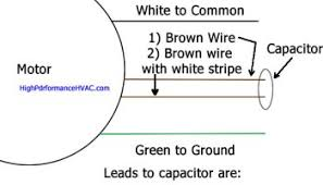 how does start capacitor help start motor hvac technical how to wire a run capacitor to a motor blowers condensers