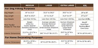 Dog Crate Size Chart Dog Crate Furniture With Metal Slats