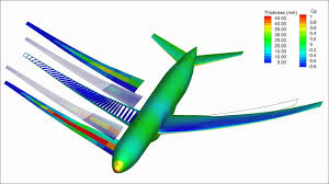 New Airplane Wing Design Wing Design Optimization Of A Boeing 777 Sized Aircraft