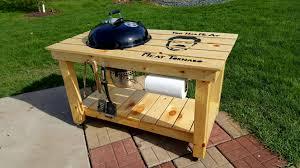 finally made a grill cart