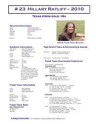Softball Player Profile Template Sheet Template Softball Profile Player