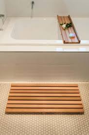 furniture wood bathroom mat wooden slat bath nz target teak australia alluring long teak